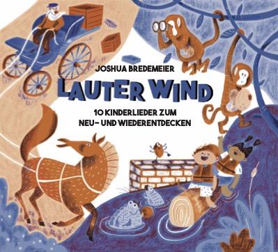 Cover der CD Lauter Wind